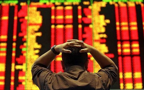 shares start to fall
